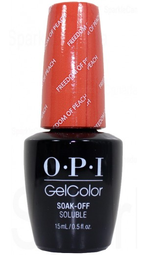 GCW59 Freedom of Peach By OPI Gel Color