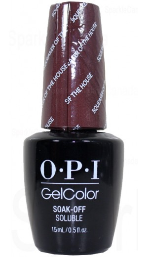 GCW60 Squeaker of the House By OPI Gel Color