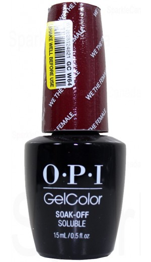 GCW64 We The Female By OPI Gel Color