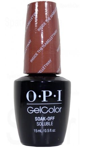 GCW67 Inside the ISABELLEtway By OPI Gel Color