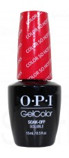 Color So Hot It Berns By OPI Gel Color