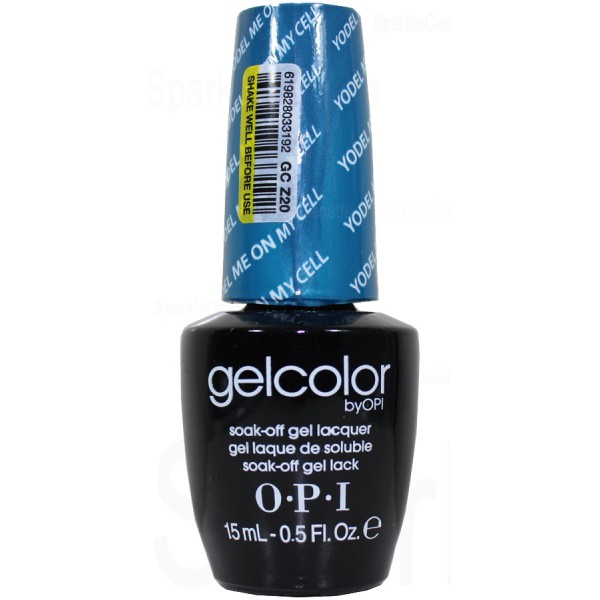Opi Gel Color Yodel Me On My Cell By Opi Gel Color Gcz20