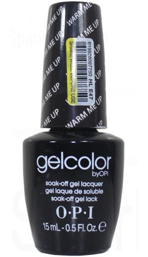 HLE47 Warm Me Up By OPI Gel Color