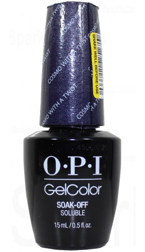 HPG36 Cosmo with a Twist By OPI Gel Color