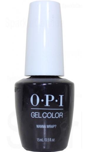 Opi Gel Color Wanna Wrap By Opi Gel Color Hpj06 Sparkle Canada One Nail Polish Place