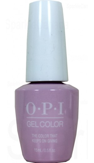 HPJ07 The Color That Keeps On Giving By OPI Gel Color