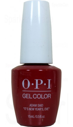 HPJ09 Adam said Its New Years, Eve By OPI Gel Color