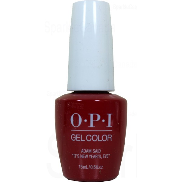 OPI Gel Color, Adam said Its New Years, Eve By OPI Gel Color, HPJ09 ...