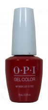 My Wish List is You By OPI Gel Color