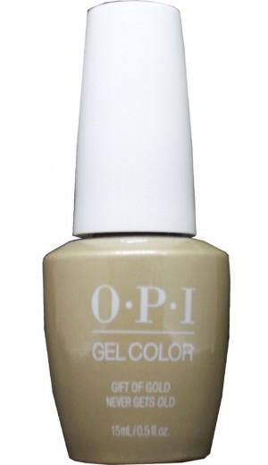 HPJ12 Gift Of Gold Never Gets Old By OPI Gel Color
