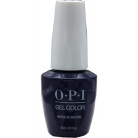 March in Uniform By OPI Gel Color