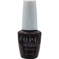Black to Reality By OPI Gel Color