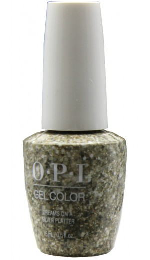 HPK14 Dreams On A Silver Platter By OPI Gel Color