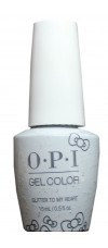 Glitter to My Heart By OPI Gel Color