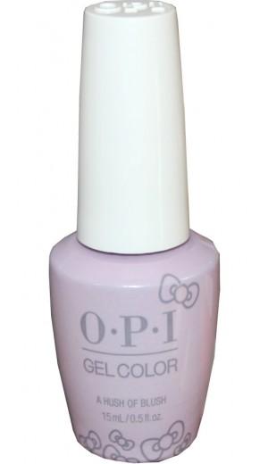 HPL02 A Hush of Blush By OPI Gel Color