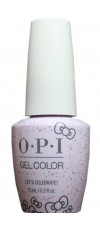 Lets Celebrate! By OPI Gel Color