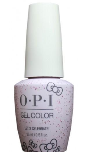 HPL03 Lets Celebrate! By OPI Gel Color