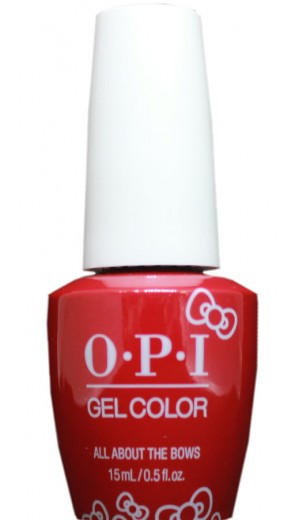 HPL04 All About The Bows By OPI Gel Color