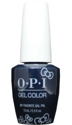 HPL09 My Favorite Gal Pal By OPI Gel Color