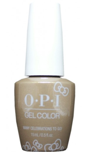 HPL10 Many Celebrations To Go! By OPI Gel Color