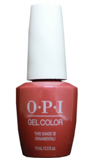 HPM03 This Shade Is Ornamental! By OPI Gel Color