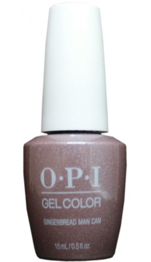 HPM06 Gingerbread Man Can By OPI Gel Color