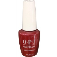 Merry In Cranberry By OPI Gel Color