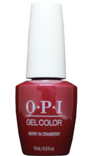 HPM07 Merry In Cranberry By OPI Gel Color
