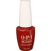 Red-y For The Holidays By OPI Gel Color