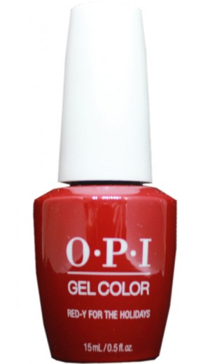 HPM08 Red-y For The Holidays By OPI Gel Color
