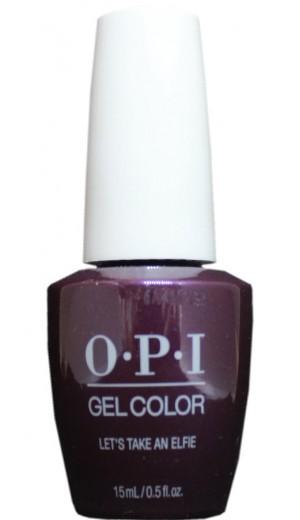 HPM09 Lets Take An Elfie By OPI Gel Color