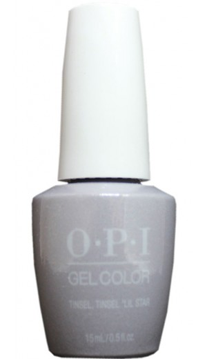 HPM10 Tinsel, Tinsel Lil Star By OPI Gel Color