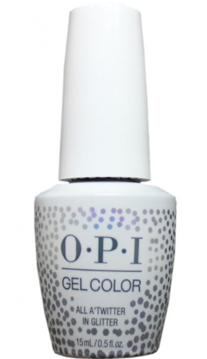 HPM13 All A Twitter In Glitter By OPI Gel Color