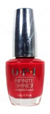 Unequivocally Crimson By OPI Infinite Shine