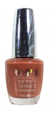 Brains & Bronze By OPI Infinite Shine