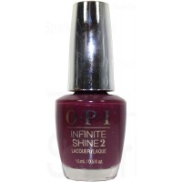 Stick to Your Burgundies By OPI Infinite Shine