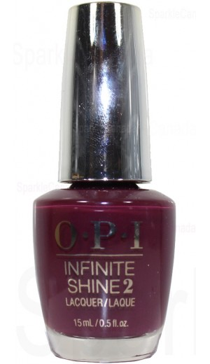 ISL54 Stick to Your Burgundies By OPI Infinite Shine
