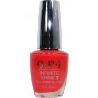 A Red-vival City By OPI Infinite Shine