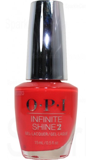 ISLL22 A Red-vival City By OPI Infinite Shine