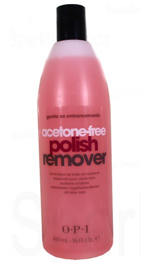 5-1793 480ml Acetone-free Polish Remover By OPI Nail Care