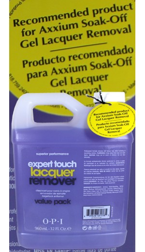 5-1887 960 ml Expert Touch Lacquer Remover By OPI Nail Care
