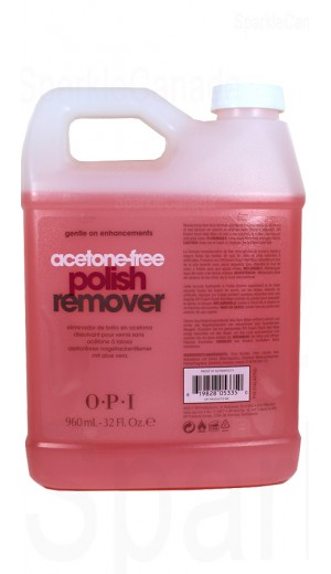 5-1792 960ml Acetone-free Polish Remover By OPI Nail Care