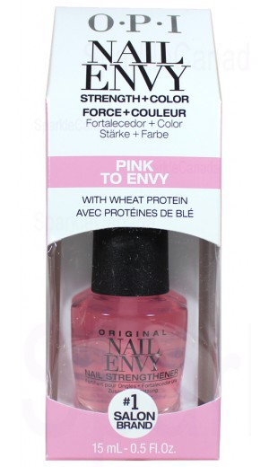NT223 Nail Envy In Color - Pink To Envy By OPI Nail Envy By OPI Nail Envy