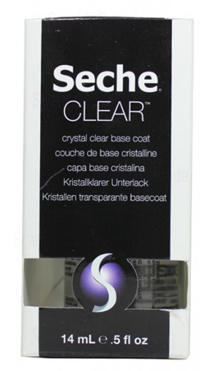 how to use seche clear base coat