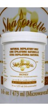 473ml Honey Natural Depilatory Hair Removal Wax By Sharonelle