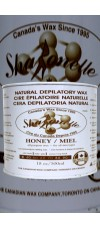 500ml Honey Natural Depilatory Hair Removal Wax By Sharonelle