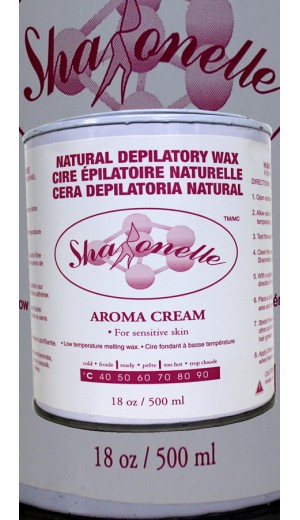 23-915 500ml Aroma Cream Natural Depilatory Hair Removal Wax For  Sensitive Skin By Sharonelle