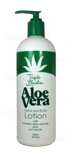 473ml Aloe Vera Hand and Body Lotion By Triple Lanolin