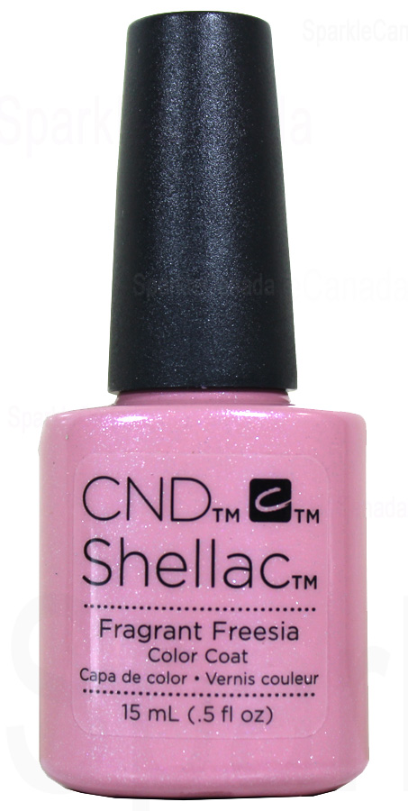 Cnd Shellac 15ml Fragrant Freesia Double Size Limited