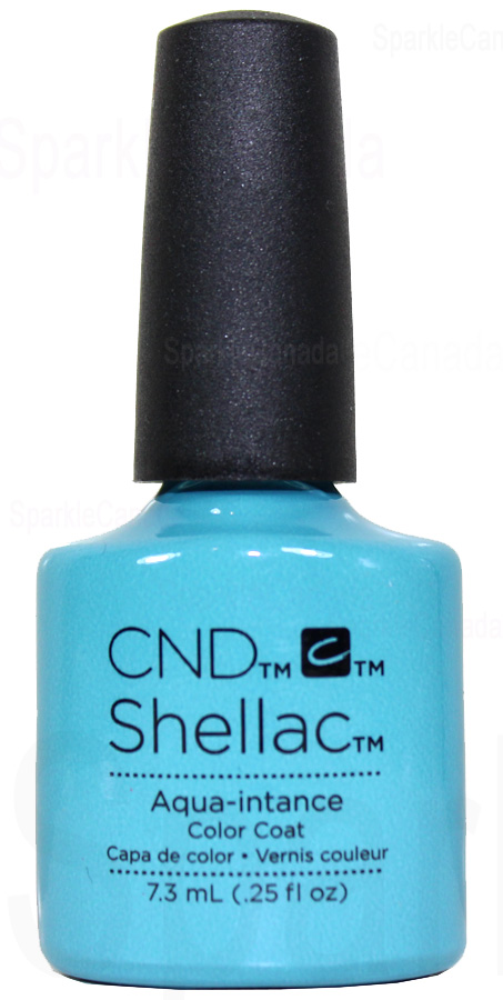 Cnd Shellac Aqua Intance By Cnd Shellac 12 2066 Sparkle Canada One Nail Polish Place